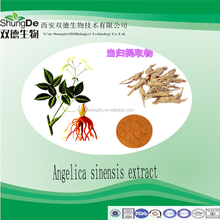 Hot sell Chinese Angelica extract powder/Radix Angelicae Sinensis P.E /dong quai extract