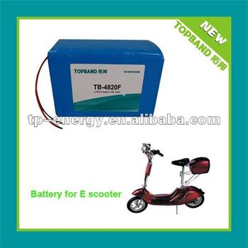 Arrival Electric Scooter Battery 48V 20AH LFP/lifepo4 battery supplier