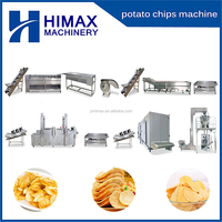 high quality and full automatic fresh potato chips plant