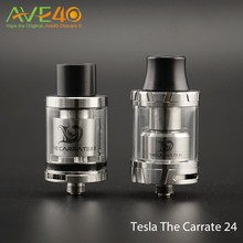 2016 Hot selling RTA Atomizer Tesla The Carrate 24 in Stock