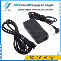 DC 19V 3.16A 60W Adapter B130 1300 2200 1200 B120 for Dell Laptop AC Power Adapter