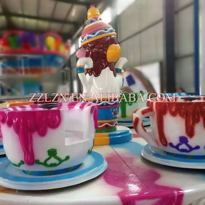 China top portable amusement rides coffee / tea cup rides for sale