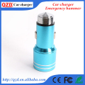 Emergency safety hammer stainless steel 12v car battery charger