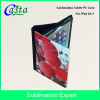 Blank Custom Case for ipad Case Sublimation for Mobile phone holster Leather Tablet PC Case Sublimation For iPad Air 2