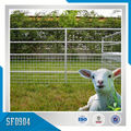 Wire Mesh and Bar Constructed Wrought Iron Sheep Yard Fence