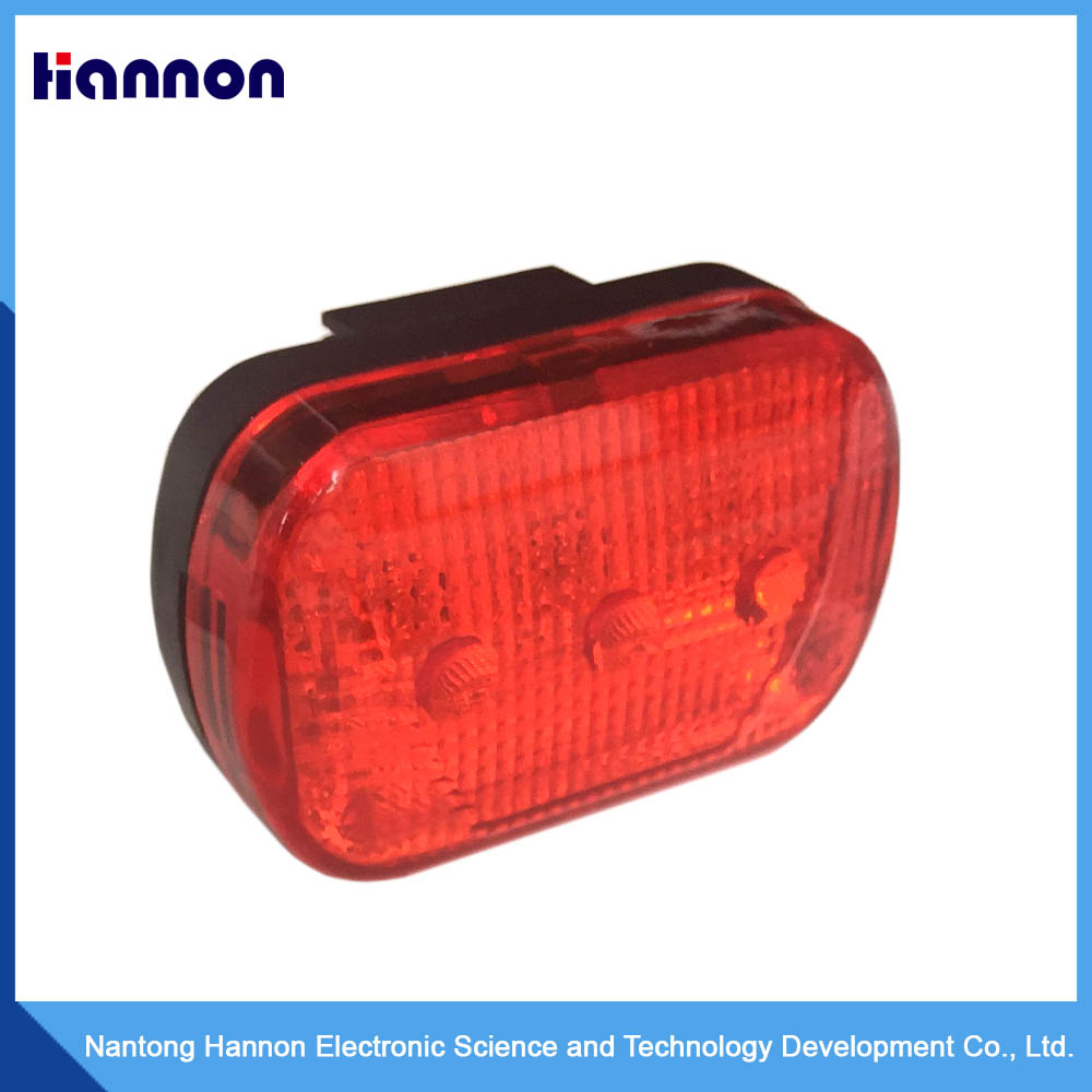Motorcycles mini using red flashing led tail warning traffic lights