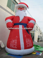 inflatable santa claus balloon, inflatable father christmas model, inflatable outdoor advertising for christmas decoration