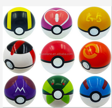 China Supplier pokemon ball pokeball toys in plastic for christmas gifts