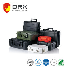Waterproof Dustproof hard plastic equipment case with foam