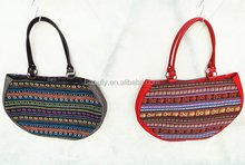 Hot selling European style paper crochet shoulder bags for women