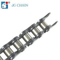 16B zhejiang zhuji iso certified chain factory b series alloy steel machine parts roller chain drives