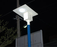 all in one solar parking light luminous intensity solar led street light