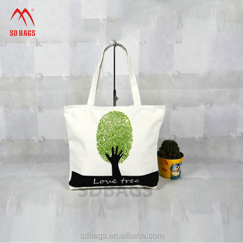Fashion Durable reusable promotional Heavy Duty cotton shopping tote bag