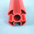 Customize various of extrusion plastic pvc profile