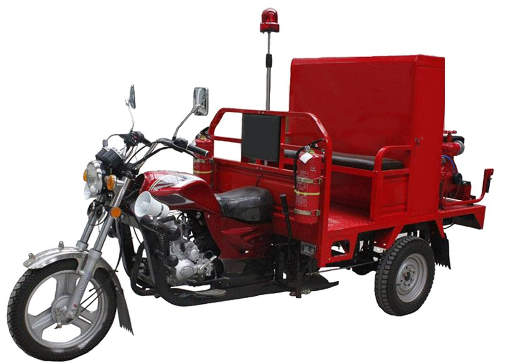 Fire Tricycle Fire Fighting Fire truck three Wheel Motorcycle 150cc
