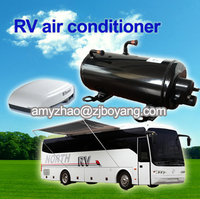 recreational vehicle roof top mounting aire acondicionado with rv air compressor kit