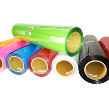 HEAT TRANSFER VINYL FILM FOR LEATHER AND TEXTILE