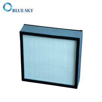 Aluminum Alloy or Metal Frame Mini- Pleats HVAC Panel HEPA Air Filter