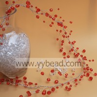 6/8/10 MM Artificial Red Berry Wreath Christmas Wreath Berry Wedding Decoration Branch Tree Branches For Centerpieces