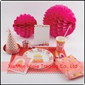 25cm Honeycomb Ball Tissue Paper Pom Poms Party table centerpiece decoration