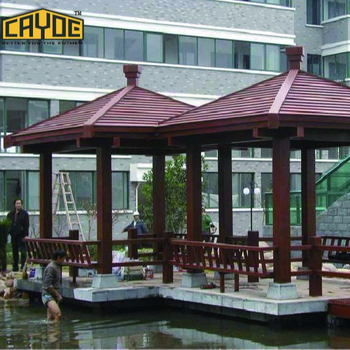 Outdoor waterproof sun shading pergola gazebo