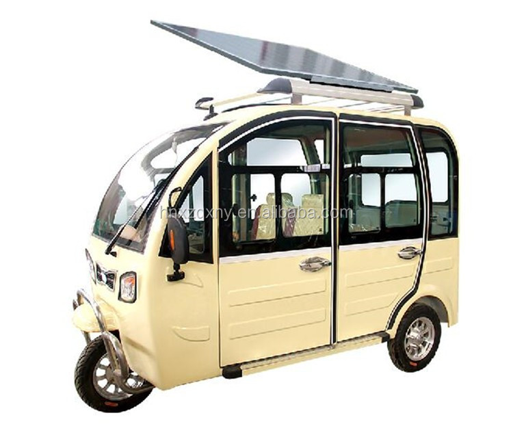 dc motor three wheeler electric auto rickshaw for sale
