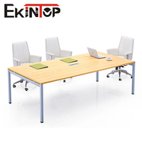 High quality modern rectangular meeting conference room table office furniture