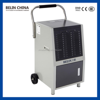 Auto defrosting promotional large water tank dehumidifier