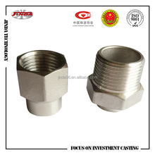 Pipe fittings coupling thread fitting