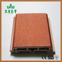 New material wood plastic composite exterior wall panel /wall cladding