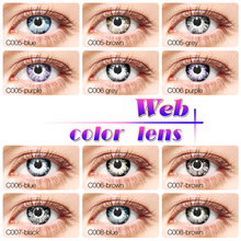 wholesale halloween crazy color contact lenses cosplay circle lens fantasy cheap color contacts