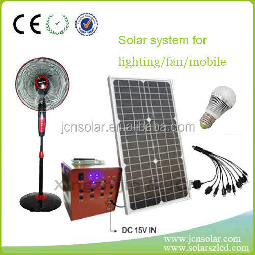 Home Use High Quality Efficient Application Solar Panel System pv Solar panel Support with Solar Light