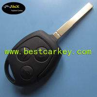 Topbest 3 button car key case for Ford Focus remote key case smart key case