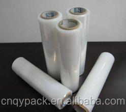 2016 transparent lldpe Stretch film for packing pallet or carton