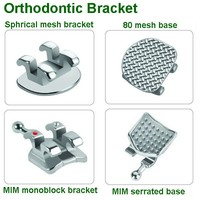 China Dental Equipment Orthodontic Material Brackets Buccal Tubes Molar Bands Accessories Orthodontic Dental Expendables