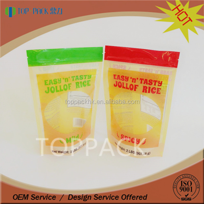 Plastic material zipper transparent moistureproof milk tablet packaging pouch