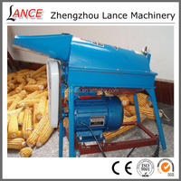 Hot sale double-roller maize sheller / corn thresher/ shelling machine with wide inlet