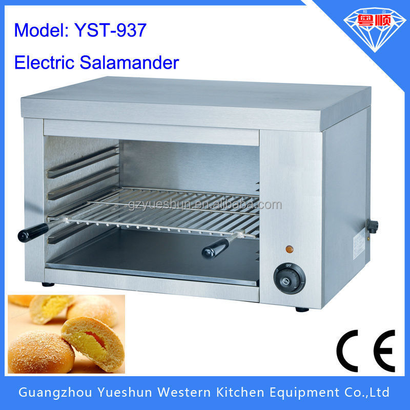 Professional healthy electric salamander with adjust layer