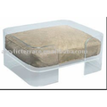 Acrylic Lucite Dog Bed
