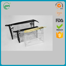 Best selling stand up ziplock most soft and solid AZO Free Clear PVC Packaging bags