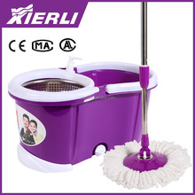 Spining Mop & Bucket System Rotating Magic Mop with 2 Mop Heads