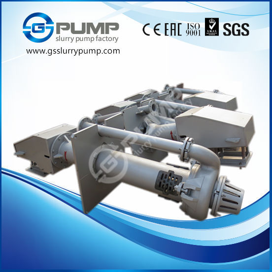 China slurry pump to clean of setting ponds