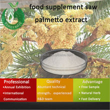 Saw palmetto/prostate disease/food supplement saw palmetto extract