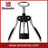 Black color corkscrew / Wing opener / Wine corkscrew and cheap corkscrew for Promotion