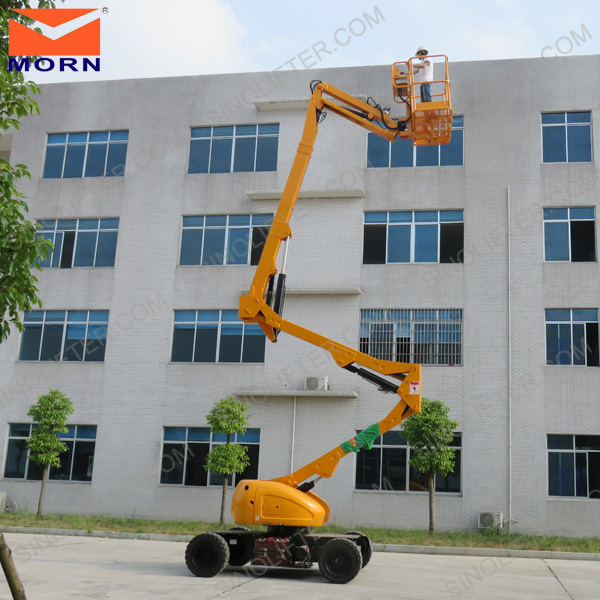 Aerial work platform lift high rise window cleaning equipment for building