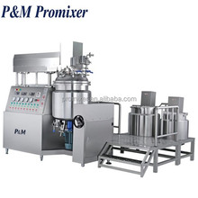 1000L body lotion cream making machine,liquid detergent production plant