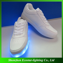 Crazy led shoes wholesale led lady shoes