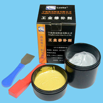 Industrial metal repair epoxy putty