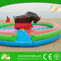 Kids interesting rides mechanical bull in sports & entertainment for sale