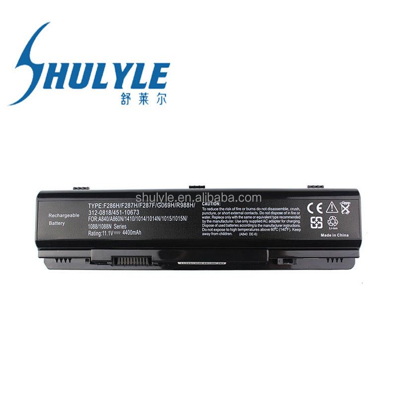 Brand new genuine Original Laptop Battery for DELL Original Battery Vostro A840/A860 1014/1015 1410 Laptop